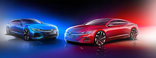 Primeres dades sobre l'actualització del Volkswagen Arteon i el nou Arteon Shooting Brake