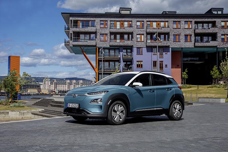 El Hyundai KONA Elèctric supera les 100.000 vendes mundials.