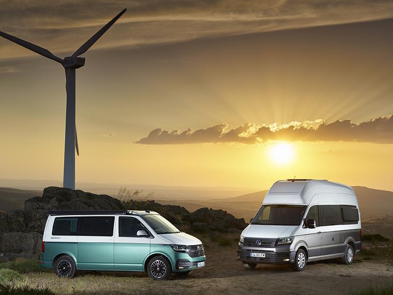 Volkswagen presenta la seva renovada i completa gamma camper