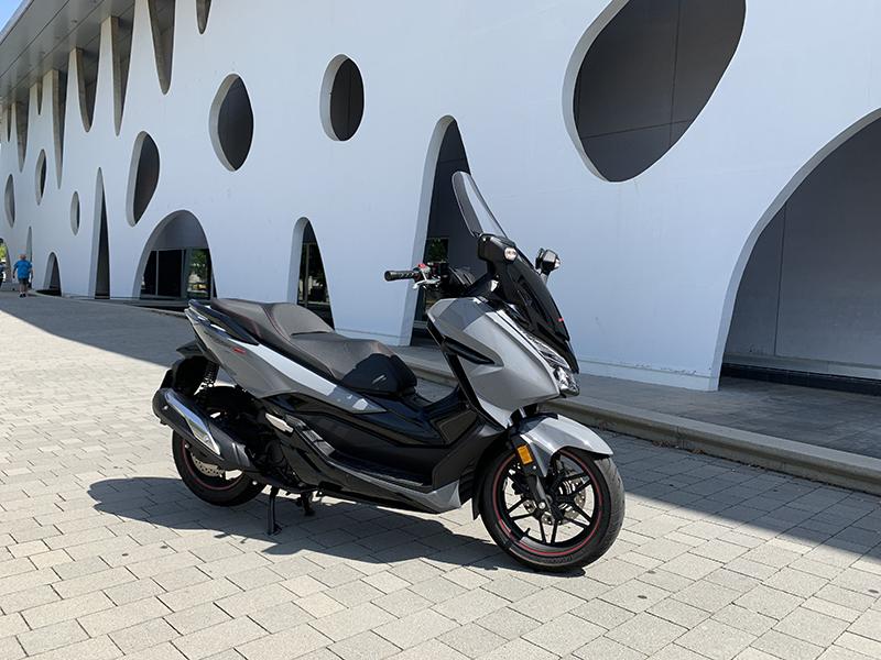 Honda Forza 300 ED, més premium