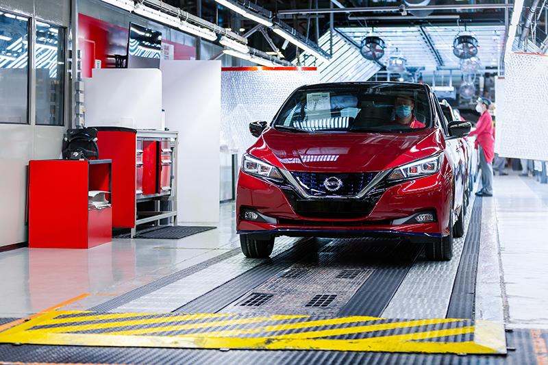 Nissan celebra la fabricació del LEAF número 500.000