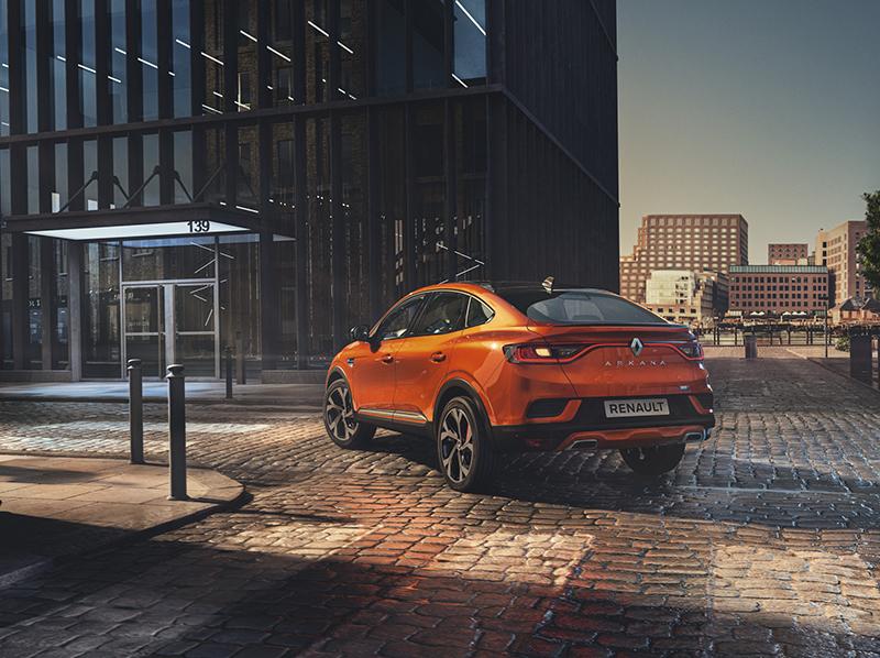 Renault revela el nou Arkana: un SUV coupé híbrid