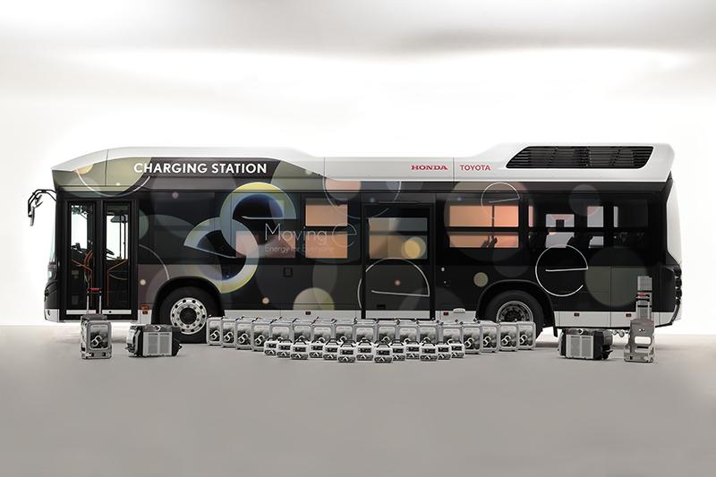 Toyota i Honda desenvolupen un generador elèctric portàtil per garantir el subministrament en desastres i emergències