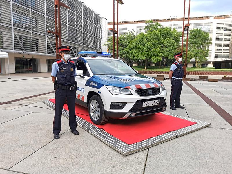 Els Mossos estrenaran vehicles amb una nova imatge corporativa