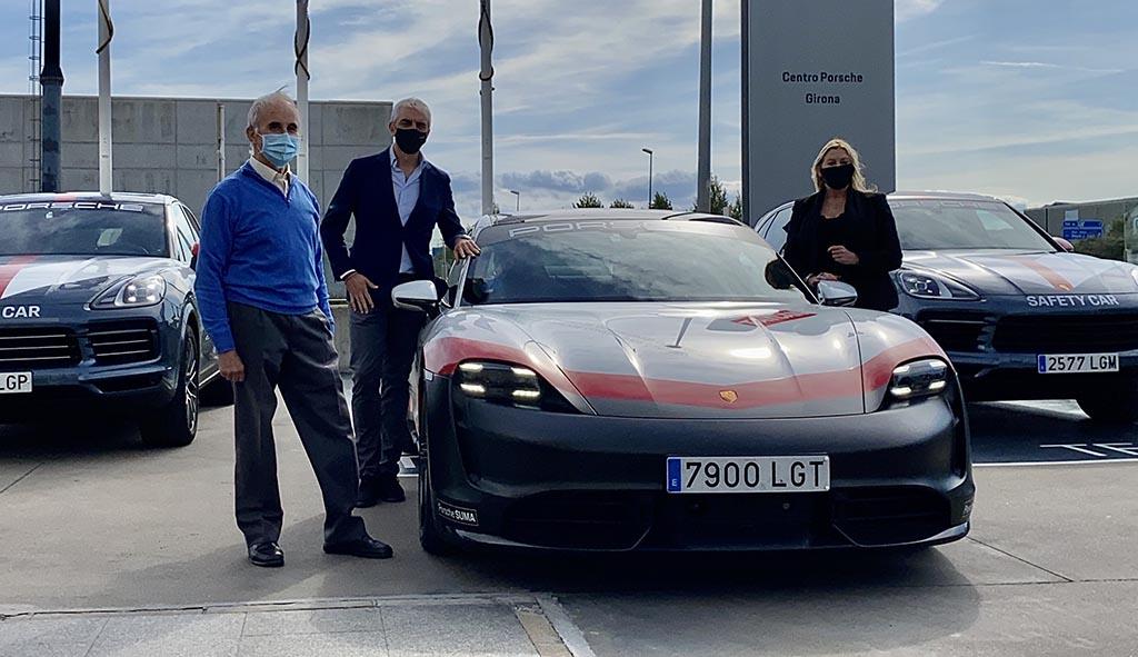El Taycan Electrotour arriba a Centre Porsche Girona
