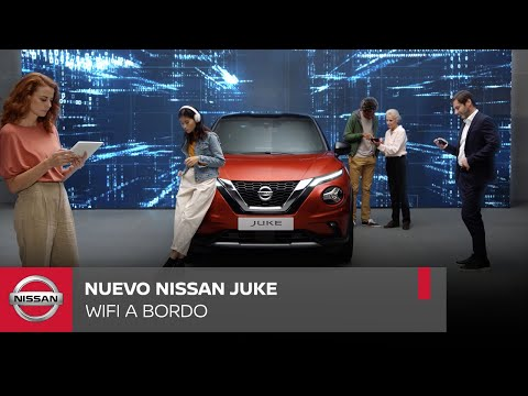 El nou Nissan Juke, encara més connectat gràcies a la connexió wifi a bord