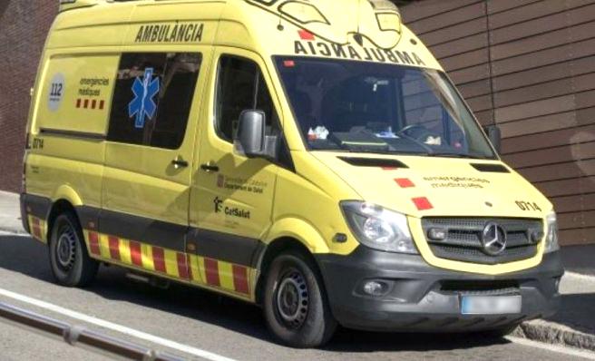 Quatre ferits, tres de gravetat, en un accident entre motos a Sant Julià de Ramis