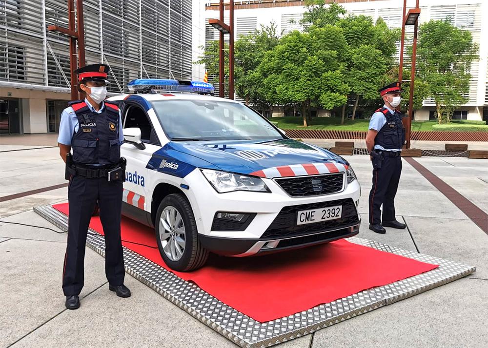 Nova imatge dels vehicles patrulla dels Mossos d'Esquadra