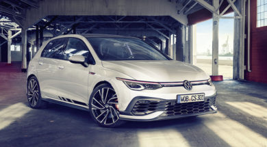 The new Volkswagen Golf GTI Clubsport