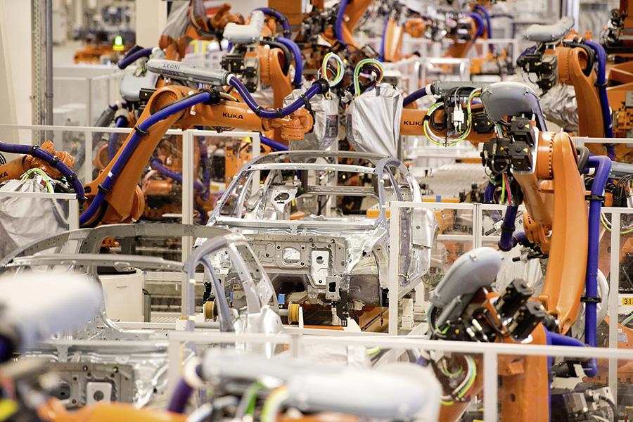 El Grup Volkswagen inverteix en l'automatització de les seves plantes