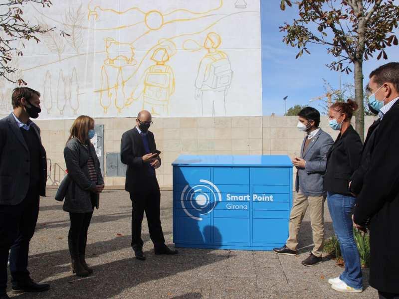 Girona engega un pla pilot de paqueteria intel·ligent i de zero emissions
