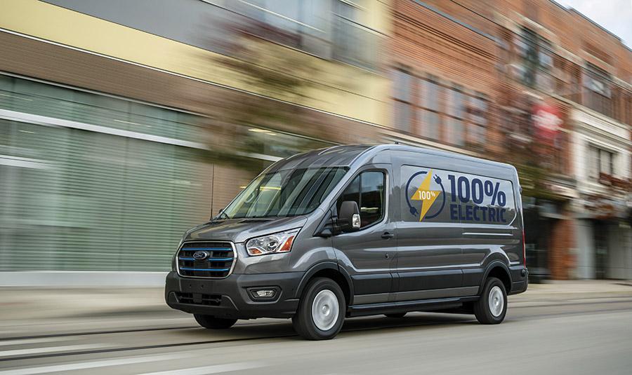 Ford e-transit, totalment elèctrica, lidera el canvi