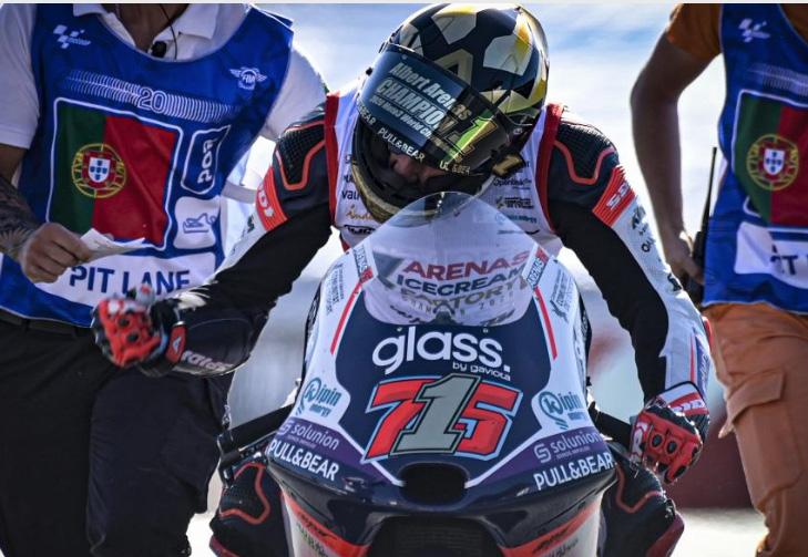 El gironí Albert Arenas campió del món de Moto3