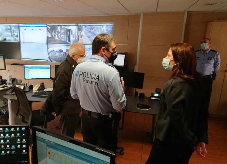 L'Ajuntament de Girona posa en marxa nou càmeres lectores de matrícula a la ciutat