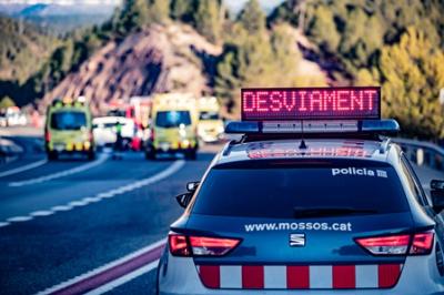 El nombre de morts a les carreteres catalanes baixa un 42% respecte a l'any passat