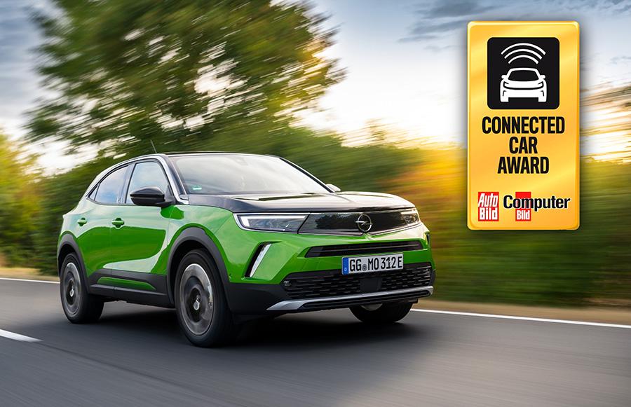 """El nou Opel Mokka-e guanya el premi """"Cotxe connectat"""""""
