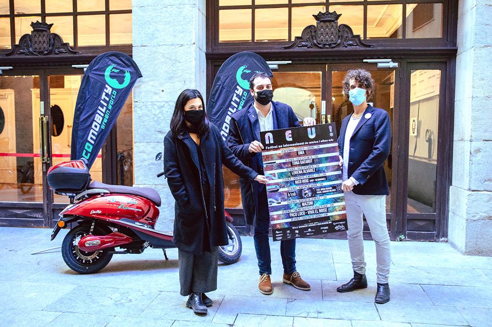 Ecomobility Girona patrocina el festival NEU!