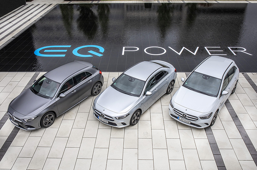 Mercedes-Benz lidera el mercat de vehicles híbrids endollables a l'estat espanyol