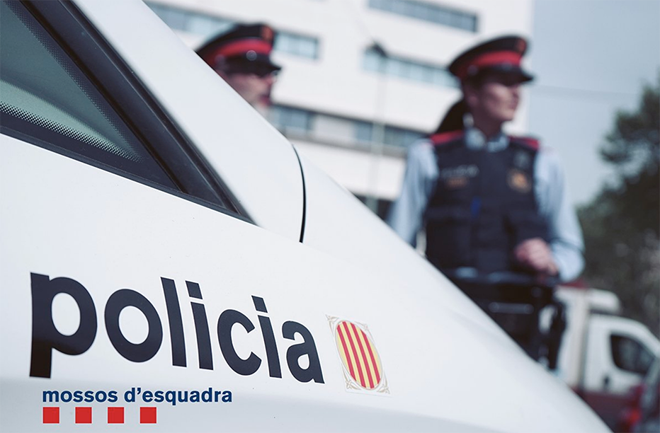 Detinguts dos joves per robar uns 450 euros forçant set màquines de neteja de cotxes en un taller de Palafrugell