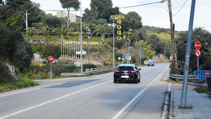 La Generalitat cedeix la carretera C-253 a l'Ajuntament de Calonge i Sant Antoni