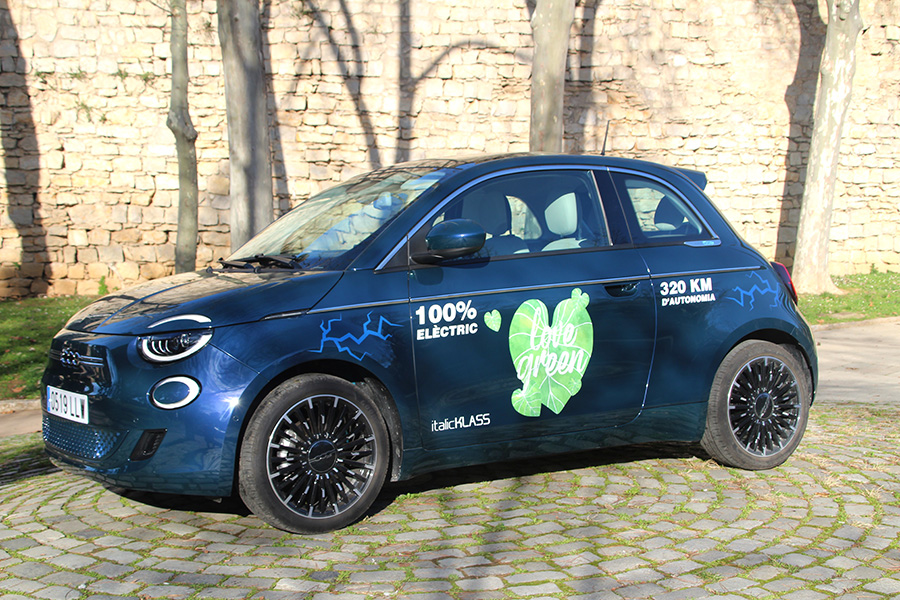 FIAT 500e: Una icona urbana amb cor elèctric
