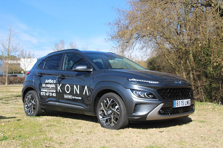 Hyundai Kona Híbrid Elèctric: Més definit i atlètic