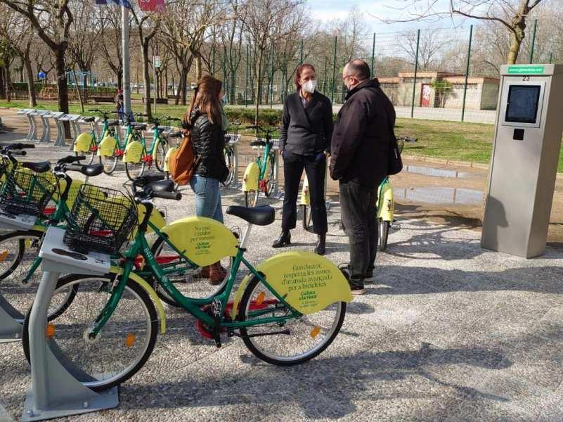 Girona estrena una nova estació de Girocleta al barri de Pedret