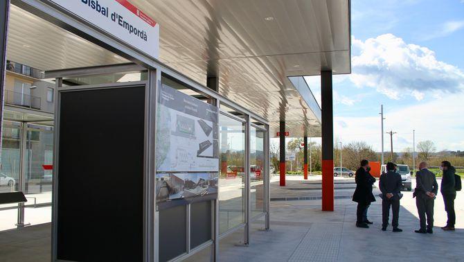 La nova estació de busos de la Bisbal d'Empordà entrarà en funcionament el 27 de març