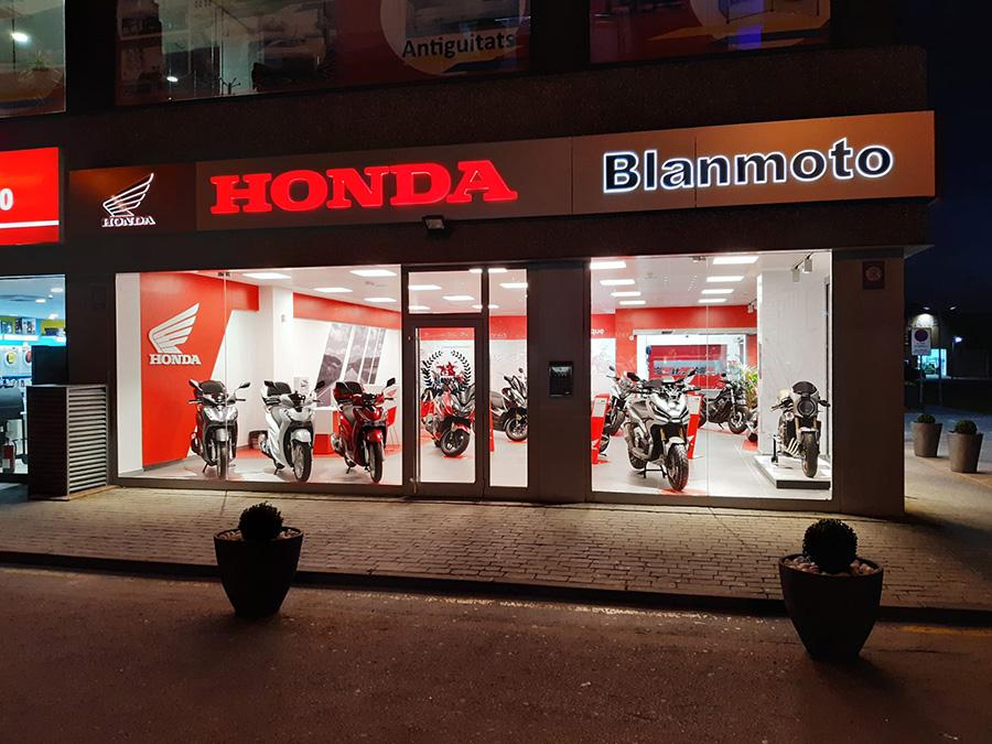 Honda Blanmoto obre una nova botiga a Blanes