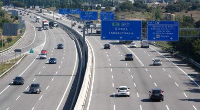 11/08/11 Autopista AP7 a maçanet de la Selva. PERE DURAN / EL PAIS