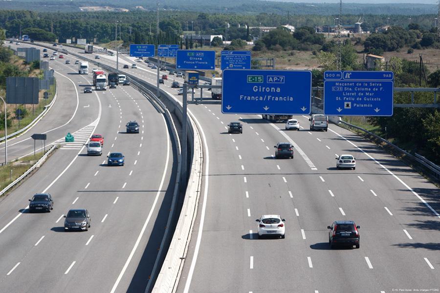 Els municipis gironins per on passa l'AP-7 deixaran d'ingressar uns 3,75 milions d'euros