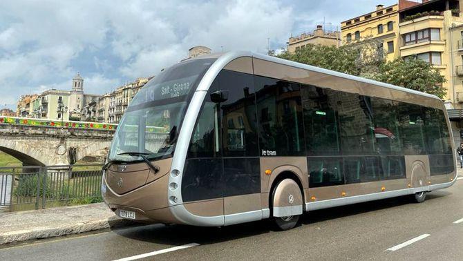 Teisa prova autobusos 100% elèctrics a quatre línies de transport urbà de Girona