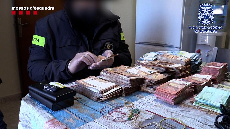 Desarticulada una organització criminal que hauria aconseguit al voltant de 7.000.000 d'euros a partir de l'expedició de gairebé 2.000 permisos de conduir fraudulents