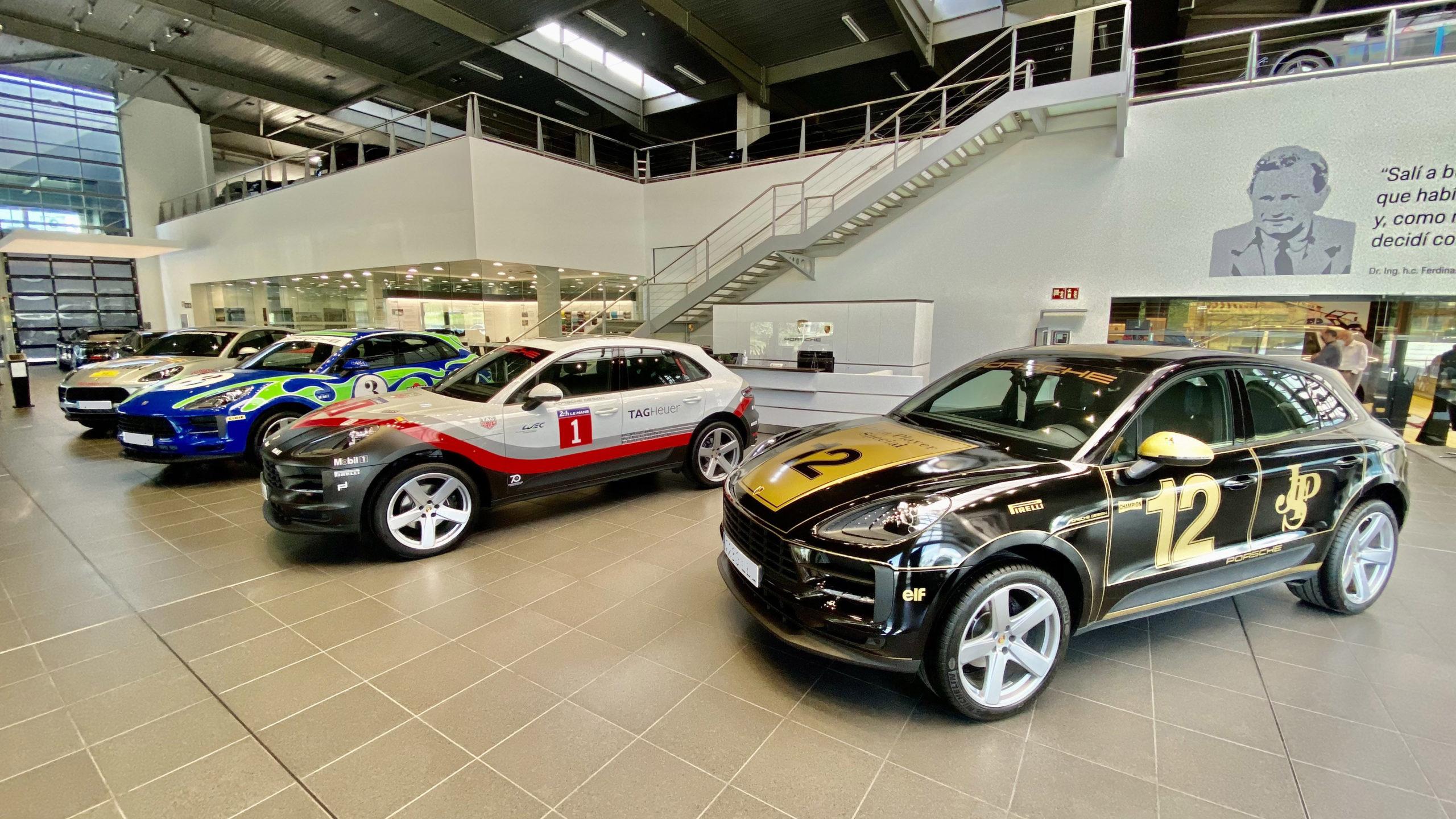Exposició Macan Tribute a Centre Porsche Girona