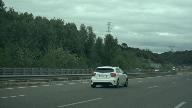 Enxampen un conductor a 231 km/h a l'AP7, a l'alçada de Sant Julià de Ramis