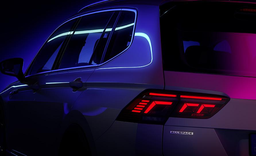 El nou Volkswagen Tiguan Allspace es prepara perla seva estrena mundial
