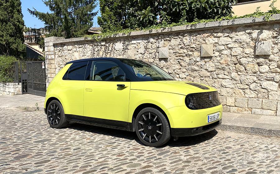 Honda e: Únic i minimalista