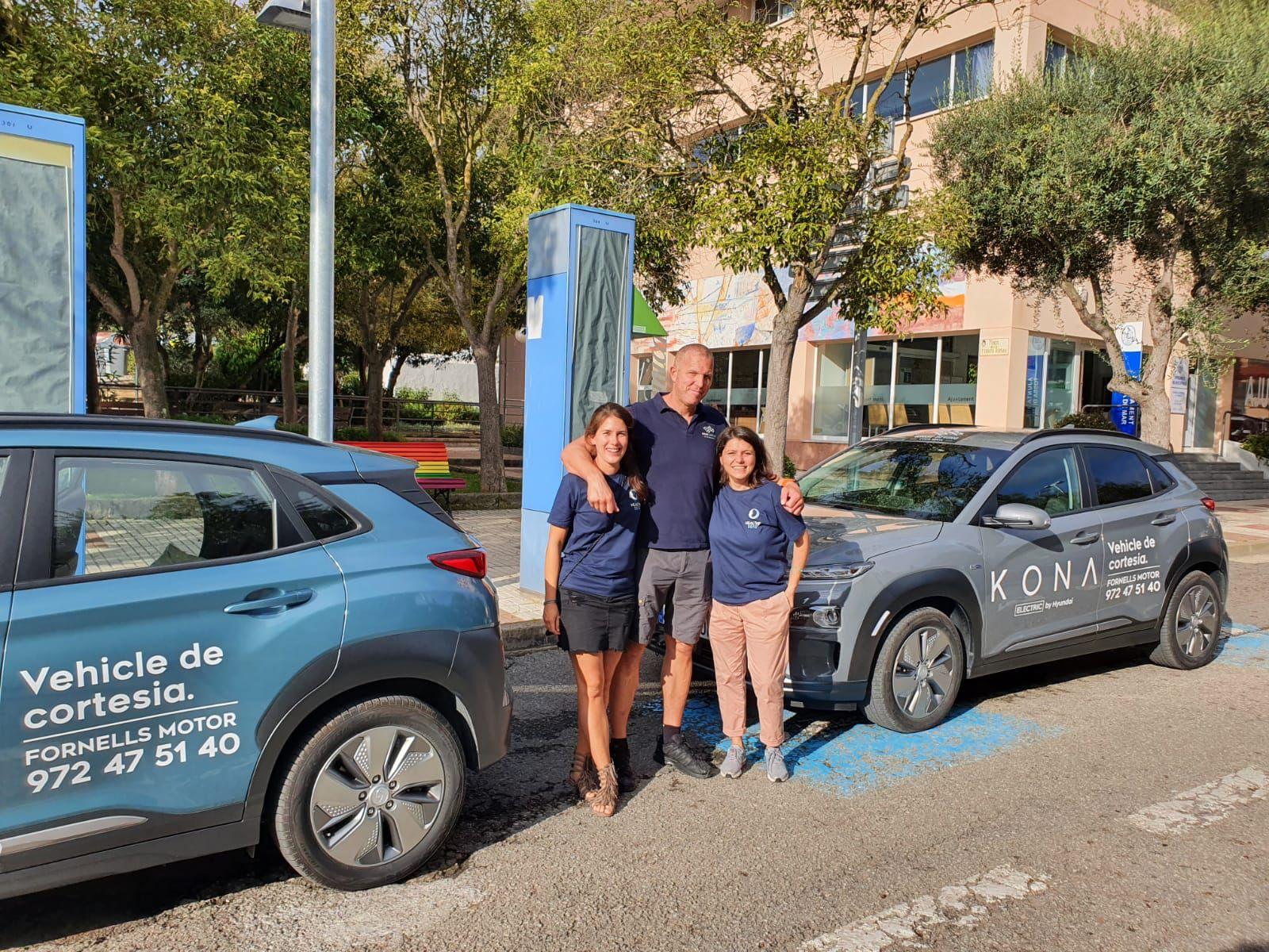 Hyundai col·labora amb un projecte de neteja de platges a Tossa de Mar